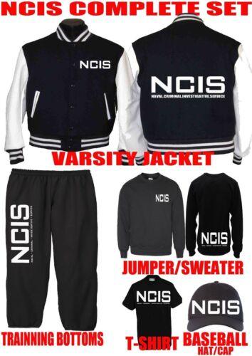 Agent Navidad Gift Jacket DVD Set Jumper Fan Ncis Camiseta Capucha Sombrero Federal zAP7ypw