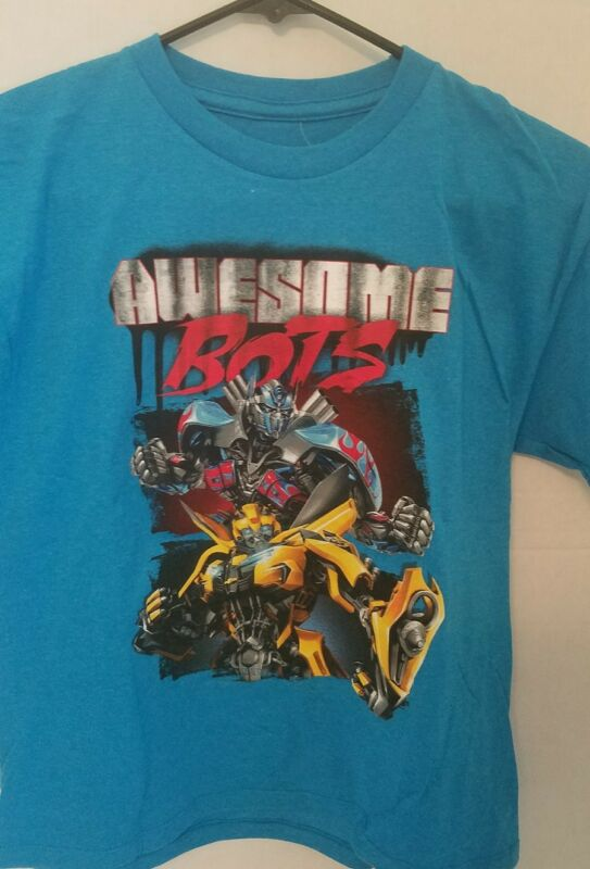 New With Tags Transformers The Last Knight Boys Kid Child T-shirt Awesome Bots