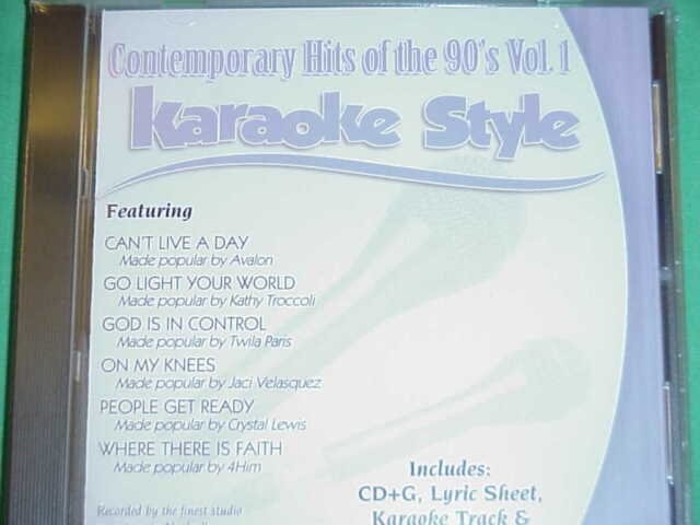 Karaoke Entertainment Alan Jackson Volume 1 Christian Karaoke Style New Cd+g Daywind 6 Songsprice