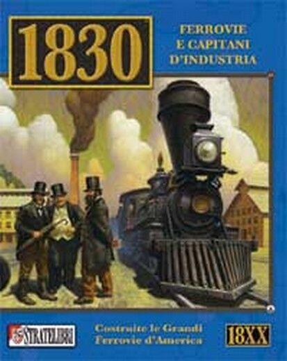 1830 Ferrovie e Capitani d'Industria Gioco da Tavola Nuovo Scatola Danneggiata