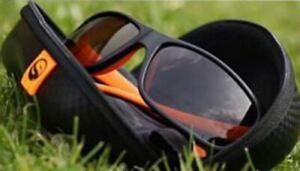 Guru Competition Pro Sunglasses BLK & Orange Brown Lens / Polarised / Fishing