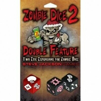 Zombie Dice 2 Double Feature Brand New