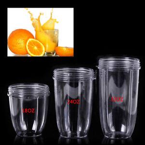 18-24-32OZ-Clear-Tall-Magic-Juicer-Cup-Mug-For-NutriBullet-Nutri-Bullet-Blender