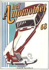 1985 HET AUTOMOBIEL MAGAZIN 68 MERCEDES BENZ 190 SL HUMBER SUPER SNIPE 1040