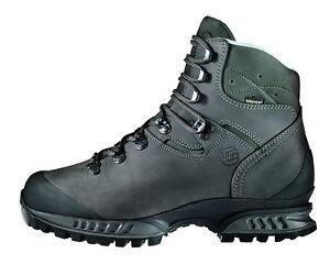 Neuve-Chaussures-De-Montagne-Hanwag-Tatra-Homme-Cuir-Tailles-11-5-46-5-cendre