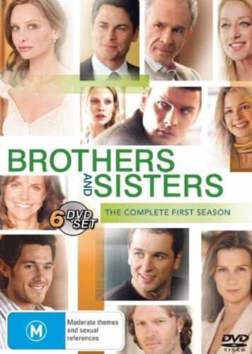 1 of 1 - Brothers And Sisters : Season 1 (DVD, 2007, 6-Disc Set)
