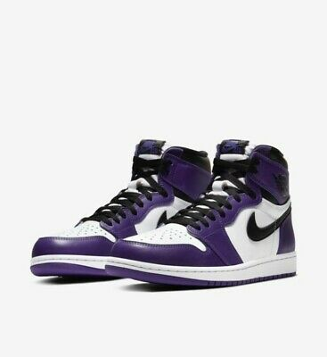 Nike Air Jordan 1 High OG Court Purple 2018 Size 12