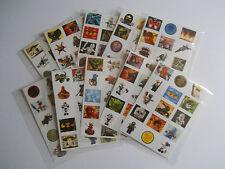 10 Packs of Lego Ninjago Mini Stickers - Mini Figure - Kids Party Bag Fillers