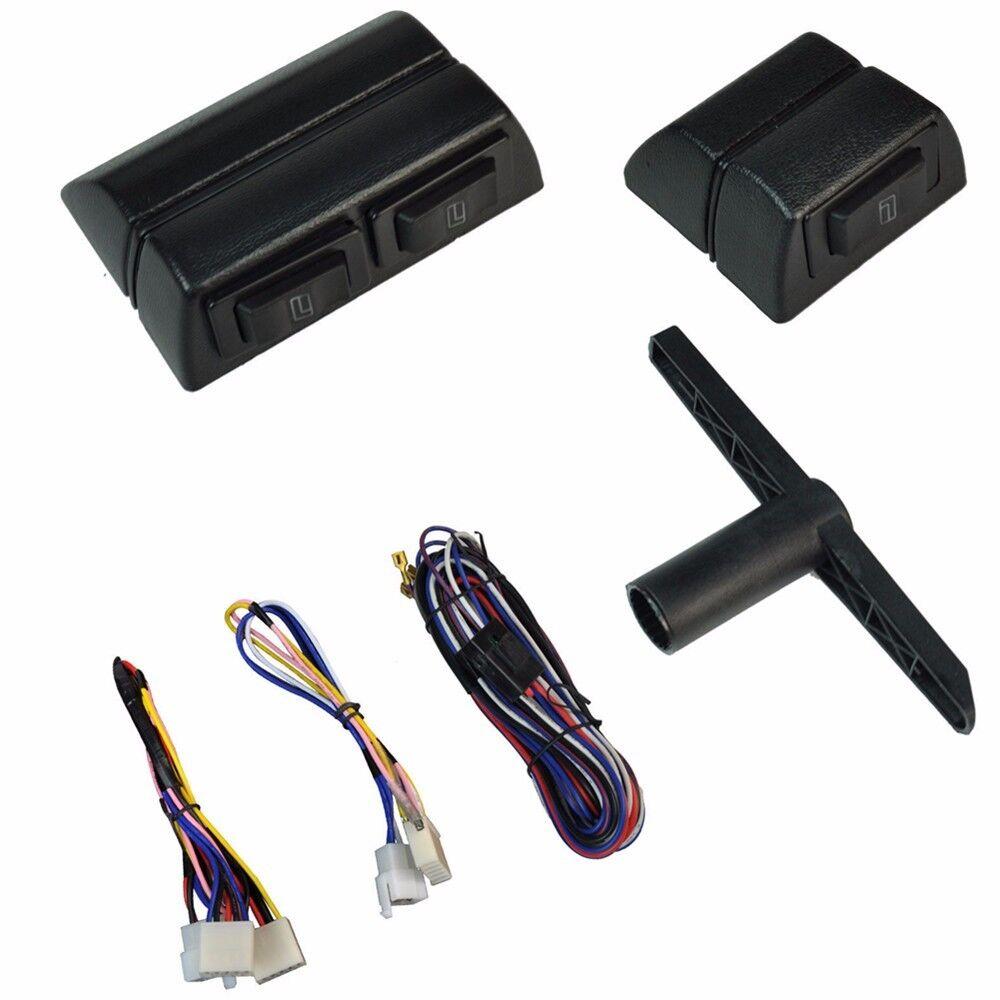 Universal 2 door electric car truck power window for 2 door power window switch kit