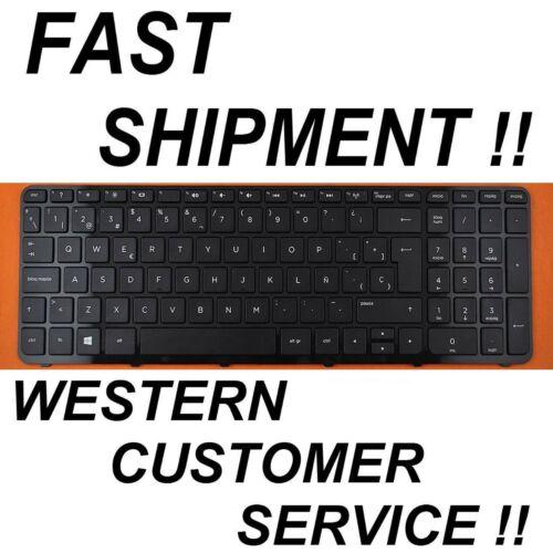 For HP 15-r111ns 15-r201ns 15-r208ns 15-r109ns Keyboard Spanish Latin Frame