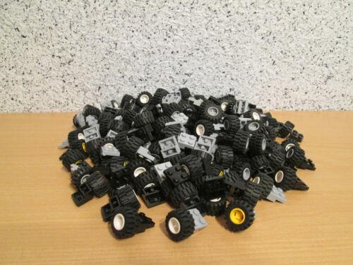 40 Achsen 4488,6014,6015 Fahrzeug,Auto,City,Stadt,Car LEGO 40 x Reifen Räder