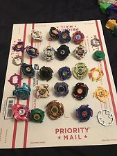 BeyBlades Huge Lot Tops, Launchers, Rip cords, Extra Pieces Some Originals!