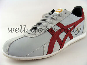 dc52e5d3d5 Asics Onitsuka Tiger Runspark LE light grey red retro mens shoes ...