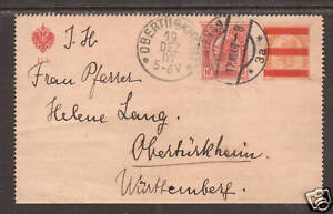 Austria-Mi-K46c-used-1907-10h-on-6h-Letter-Card-to-Germany