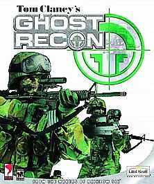 Tom Clancy's Ghost Recon (PC, 2001) Computer CD Video Game