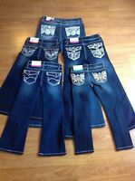 Girls Faded Glory Jeans - Various Sizes & Styles