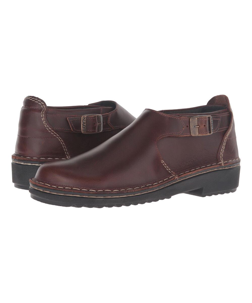 NAOT Buffalo Malta Leather Loafer (UK Größe 6 EURO Größe 39)