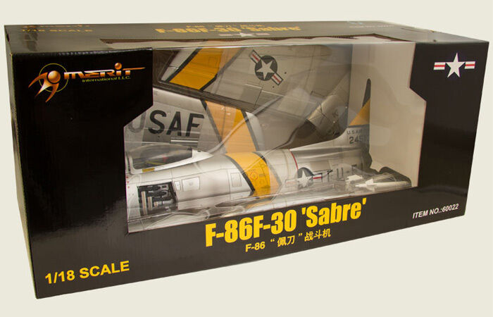 JS International 1 18 USAF F-86F Sabre Jet, MAJ J. Jabara 1953 - JSI-60022