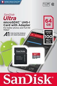 SanDisk-Ultra-A1-32GB-64GB-128GB-microSDXC-microSD-UHS-I-Full-HD-Memory-Card