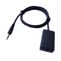 NEW Portable Car Home 3.5mm Ground Loop Isolator AUX Stereo Audio Noise Filter