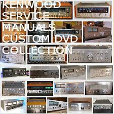 KENWOOD Service Manuals Owners Manuals Huge Mega Collection Audio Repair PDF DVD