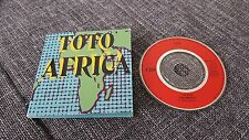 Toto 3-INCH-cd-maxi AFRICA 4.58 Min. ©1982 CBS 2-track WE MADE IT