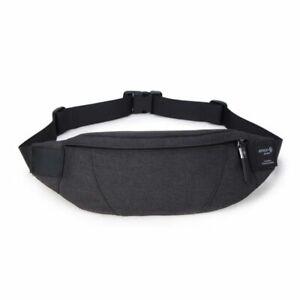 Black-Fanny-Pack-Waterproof-Money-Belt-Bag-Men-Purse-Teenager-039-s-Travel-Wallet