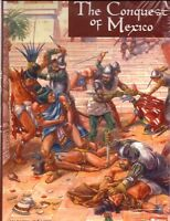 Andrea Press (miniatures) The Conquest Of Mexico Hard Cover Book Ap-038i