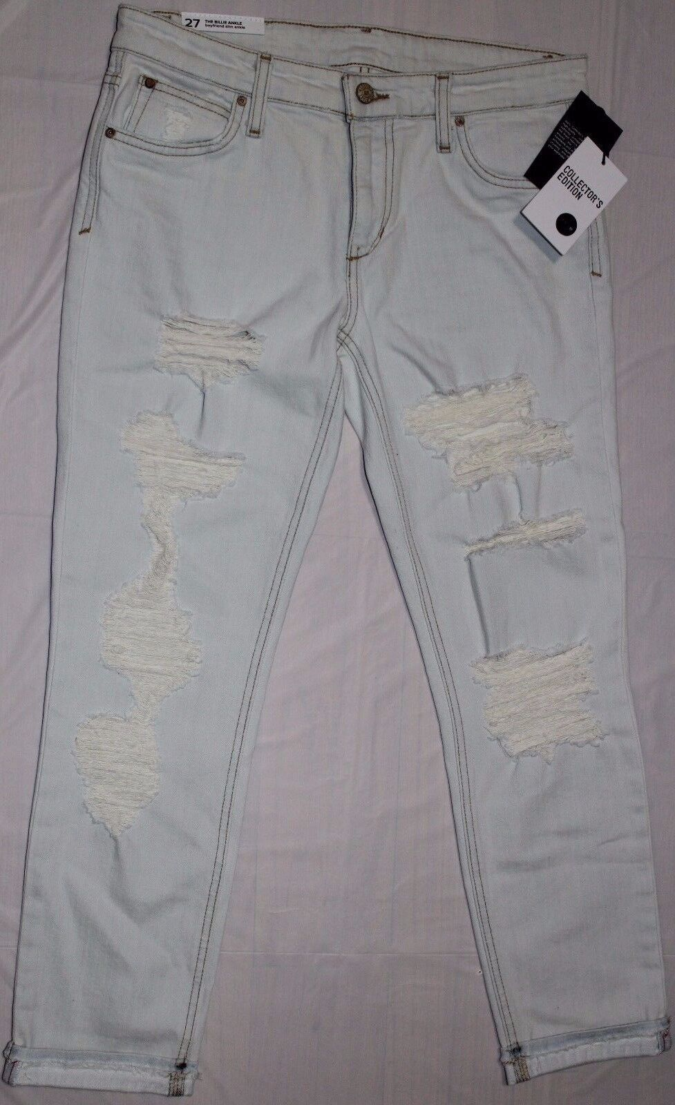 JOE'S JEANS THE BILLIE BOYFRIEND SLIM ANKLE JEANS SZ 27
