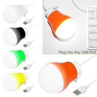 Usb Power Natural White Led Light Bulb Portable Lamp Reading Outdoor Camping