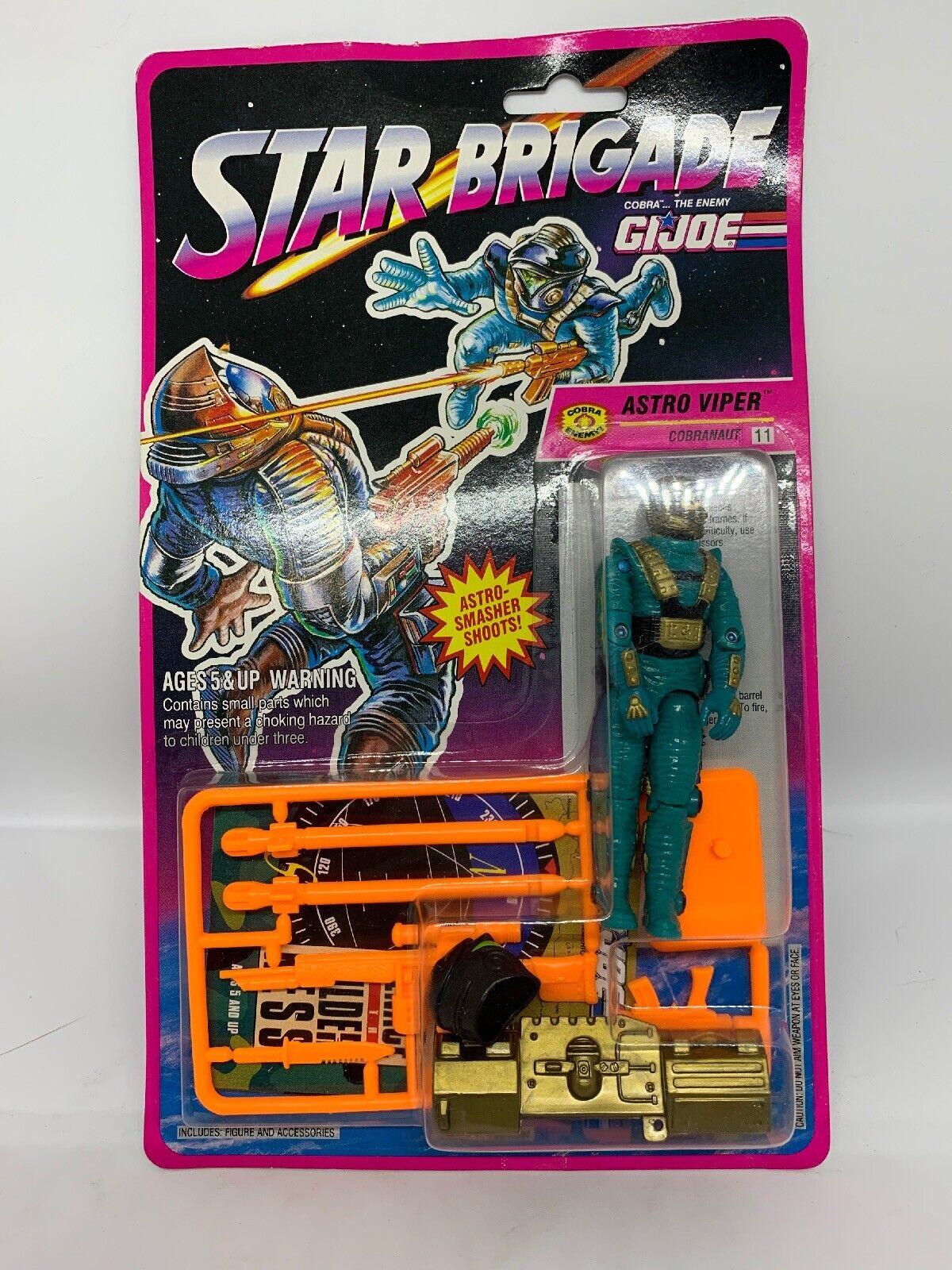Gi Joe Star Brigade Astro Viper Figure Sealed Great Condition