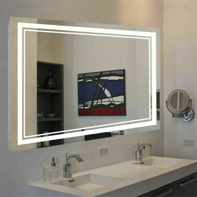 Vanity Art 60 Inch Led Bathroom Mirror With Touch Sensor For Sale Online Ebay