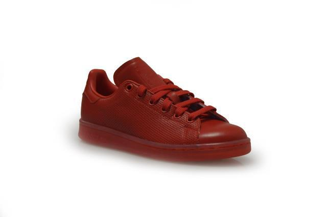 Womens Adidas Stan Smith - Adicolor - S80248 - Smith Red Trainers 2644ee
