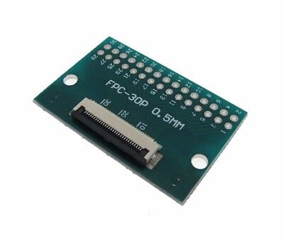 30P 30 Pins FPC to FPC Breakout Extension Board 0.5mm pitch
