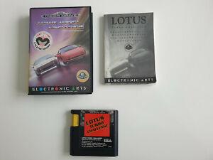 Lotus Turbo Challenge für Sega Mega Drive - PAL - CIB - komplett !