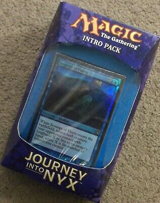 MAGIC THE GATHERING JOURNEY INTO NYX FATES FORESEEN INTRO DECK PACK FREE SHIP