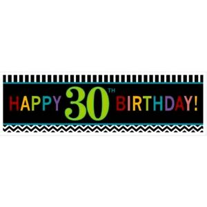 LARGE-30th-HAPPY-BIRTHDAY-BANNER-SIGN-CHEVRON-30-THIRTY-PARTY-WALL-DECORATION