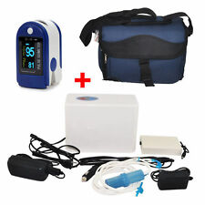 Top Portable Oxygen Concentrator Generator Recharge Battery+Finggertip Oximeter