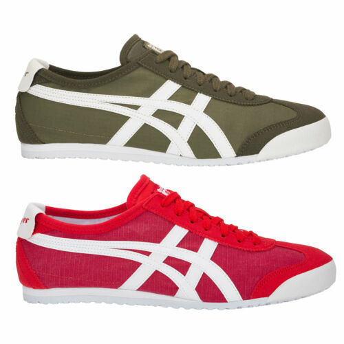 Onitsuka Tiger Mexico 66 Men/'s Trainer Fabric Asics Textile Low Shoes New