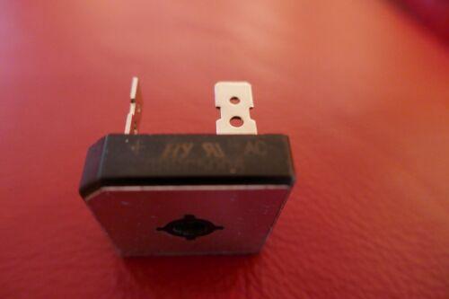 GBPC5006 600V 50A Bridge rectifier 28.5mm square x 7.6mm Faston Terminals
