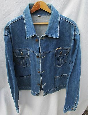 COTLER Vintage Jean Jacket Blue Denim Women XL