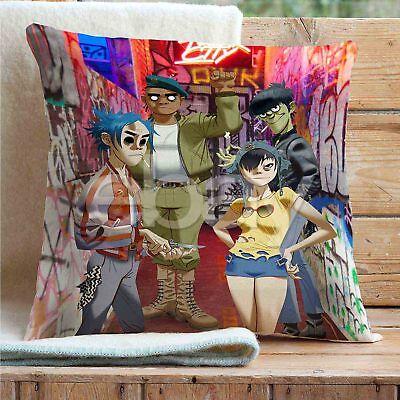 Gorillaz Custom Pillows Car Sofa Bed Decor Cushion Pillow Case
