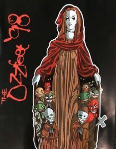 OZZFEST-1998-TOUR-PROGRAM-Ozzy-Sabbath-Motorhead-Pantera-Limp-Bizkit-Tool-Snot