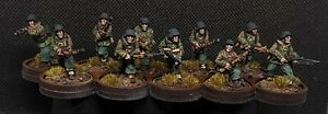 Pro-Painted-28mm-Ww2-Waffen-Ss-Squad-Bolt-Action-Chain-Of-Command