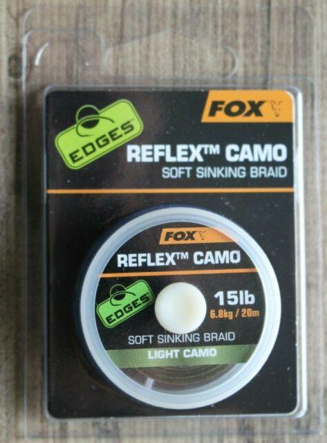Carp Fishing Stiff Fox Edges Camotex Camo Braid Soft Light Dark
