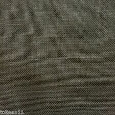 Item 4 LIBECO LAGAE 100 BELGIAN LINEN UPHOLSTERY DRAPERY FABRIC CHOCOLATE BY THE YARD