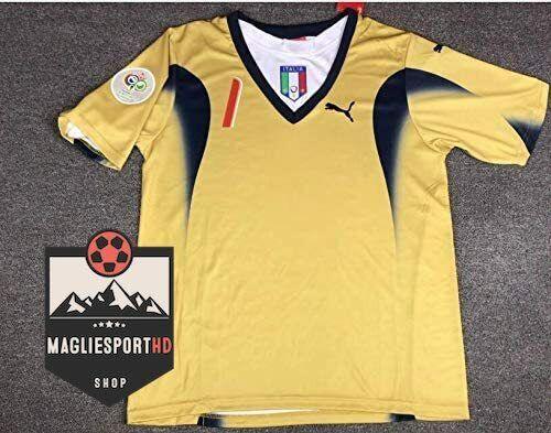 Maglia Buffon Italia Mondiali 2006 Cannavaro Totti Pirlo Materazzi Juve Calcio