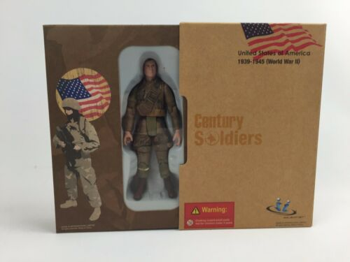 US Soldier WWII 1939-1945 1//18th Action Figure by JSI Item # 60099A01