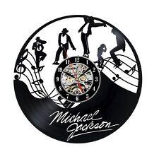 Michael Jackson  Vinyl-Schallplatte Wohnkultur Wanduhr, Vinyl Wall Clock, Gesche