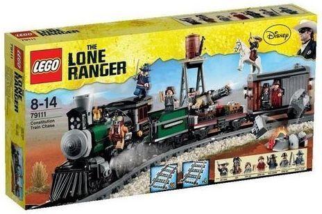 LEGO The Lone Ranger Eisenbahnjagd (79111) Neu & OVP